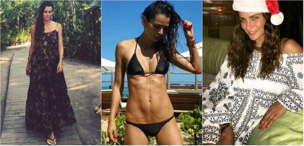 Fernanda Motta mostra boa forma em Trancoso (Foto: Reprodução do Instagram)