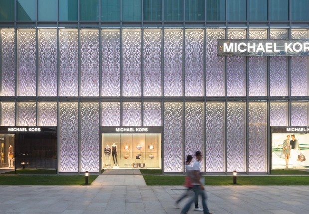 Loja da grife Michael Kors na China (Foto: Getty Images)