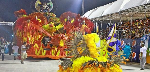 Favela do Samba conquista 16º título no Carnaval do Maranhão (Reprodução / TV Mirante)