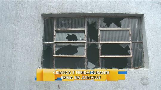 Em Joinville, família se muda após criança ser ferida em briga por aluguel