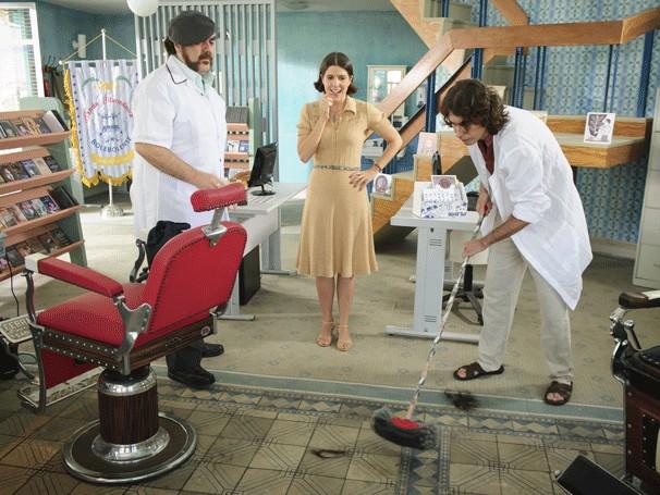 barbearia (Foto: Alex Carvalho/TV Globo)