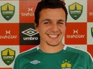 Gisiel, novo goleiro do Uberaba Sport (Foto: Divulgação/ Cuiabá-EC)