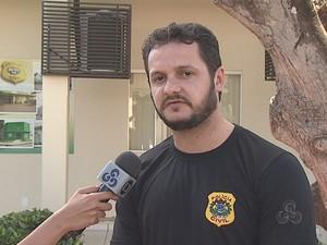 Delegado Roberth Alencar (Foto: Reprodução TV Acre)