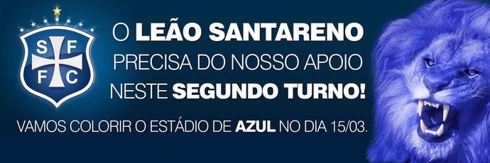 São Francisco convoca torcida para reestreia no Parazão (Foto: Divulgação/São Francisco Futebol Clube)