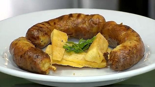Linguiça do Portuga mistura ingredientes da comida amazonense com a lusitana (Foto: Amazonas TV)