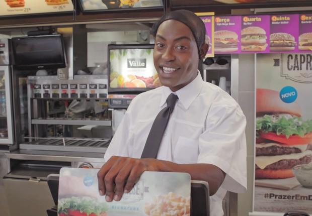 Phellyx é estrela de campanha do McDonalds (Foto: Divulgação)