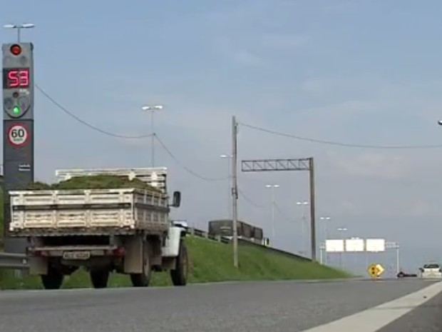 Radar BR-101 SC (Foto: Reprodução/RBS TV)
