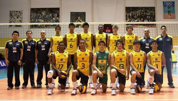 Kaio Ribeiro, convocado para a seleção brasileira infantil de vôlei (Foto: Franci Lima/Arquivo Pessoal)