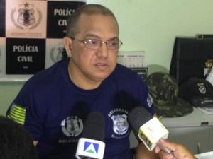 Delegado Baretta (Foto: Gil Oliveira/G1)