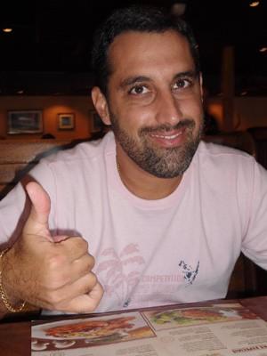 Sidnei Ricardo Mendes da Costa, de 43 anos. Advogado desaparecido (Foto: Reprodução da Internet)