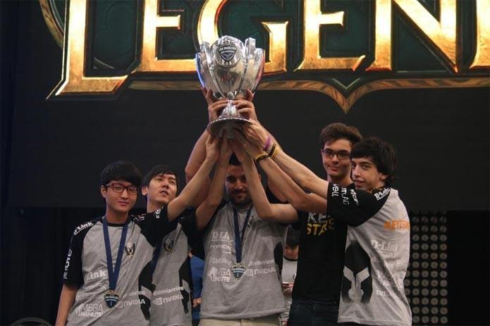 A Keyd Stars é a favorita do torneio, por ter vencido a Liga Brasileira (Foto: Thiago Pinto)