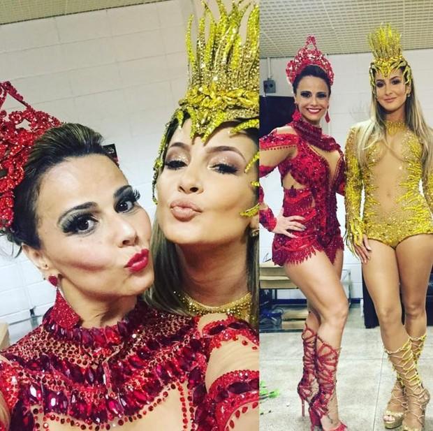 Viviane Araújo e Cláudia Leitte (Foto: Instagram / Reprodução)