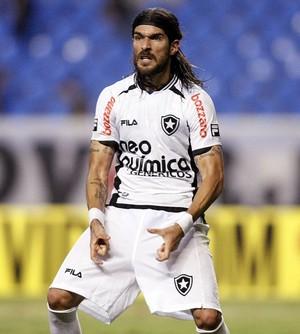 Loco Abreu Botafogo Cojones (Foto: Reprodução/Twitter Oficial do Botafogo)