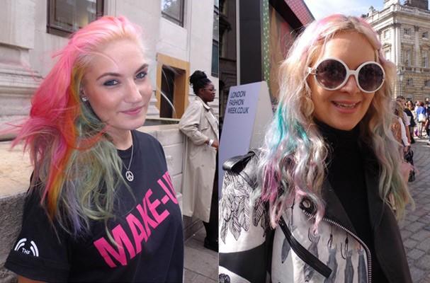 Sofia, 23, maquiadora, e Lolla, 24, stylist (Foto: Marina Petti)