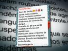 Mensagem na web diz que uniformes de agentes de saúde foram roubados