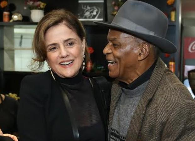 Marieta Severo e Antonio Pitanga (Foto: Manuela Scarpa/Brazil News)