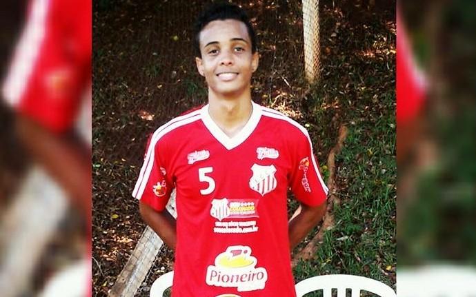 João Vitor, promovido da base do Comercial (Foto: Arquivo pessoal)