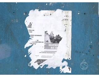 Os cartazes fazem parte da poluição visual de Volta Redonda (Foto: RJTV 1ª Edição)