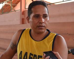 Presidente da AAPED, Marlon Gomes (Foto: Cassio Albuquerque/GE-AP)