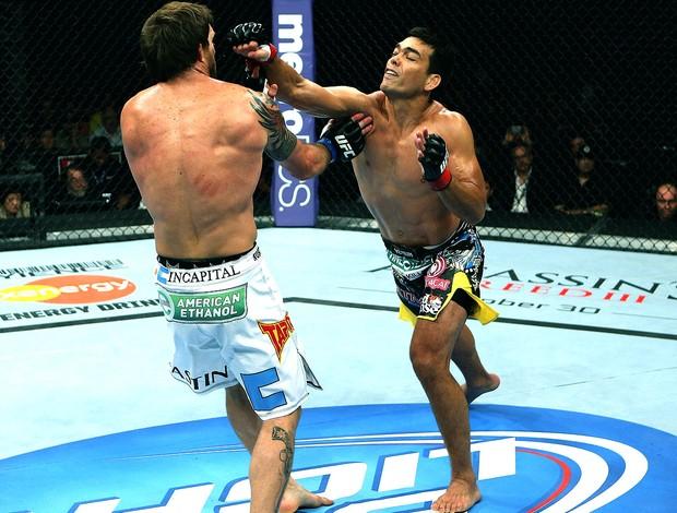Lyoto Machida na luta do UFC contra Ryan Bader (Foto: Getty Images)