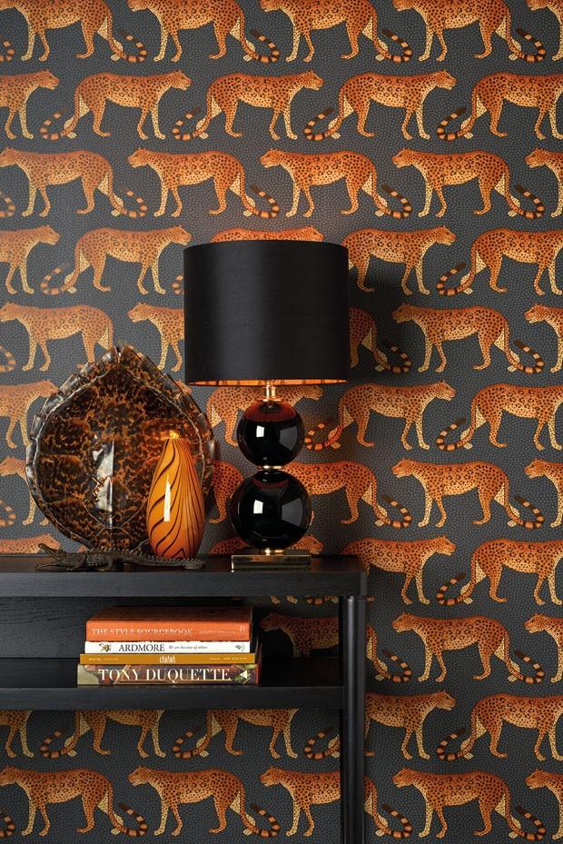 Coleção de papéis de parede é inspirada nas belezas da África (Foto: divulgação)