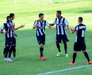 Atlético-MG Araxá segundo gol Copa SP Copinha (Foto: Danilo Sardinha/GloboEsporte.com)