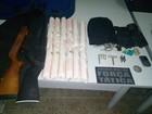 Três são presos em MT com 18 kg de dinamite após assalto em chácara