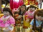 A estranha febre das bonecas 'sobrenaturais' na Tailândia