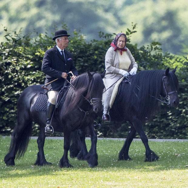 Rainha Elizabeth (Foto: The Grosby Group)
