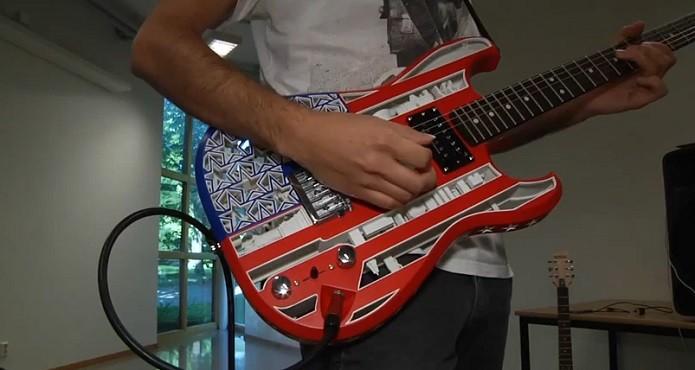 Instrumentos podem ter visuais bem caprichados (Foto: Divulgação)