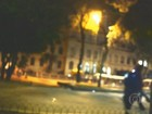 Vídeo mostra confusão em protesto de estudantes no Centro de SP