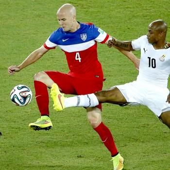 Michael Bradley jogo Estados Unidos x Gana (Foto: Reuters)