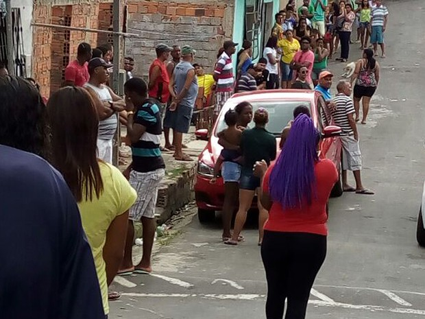 Velório reuniu amigos e parentes da criança em São Luís (MA) (Foto: Danilo Quixaba/Mirante AM)