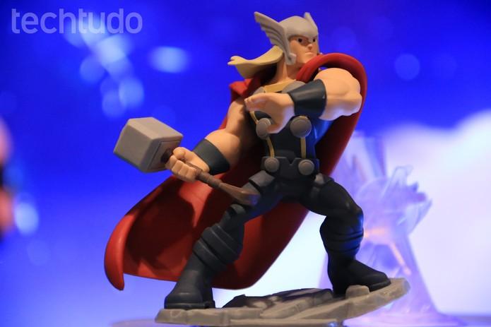 Disney Infinity 2.0 traz o Thor direto para o seu console (Foto: Lucas Mendes/ TechTudo)