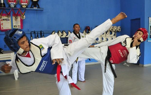 Taekwondo Manaus (Foto: Antônio Lima/Semdej)