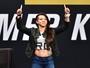 """""""Tecnicamente ela peca muito"""", diz Gadelha sobre adversária no UFC Rio"""