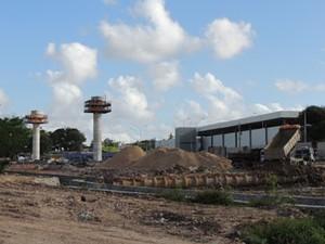 Famílias foram desapropriadas para construção do TI Cosme e Damião. (Foto: Luna Markman/ G1)