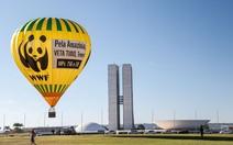 Balão por área de preservação