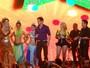 Chayene invade show de Joelma e Chimbinha em 'Cheias de Charme'