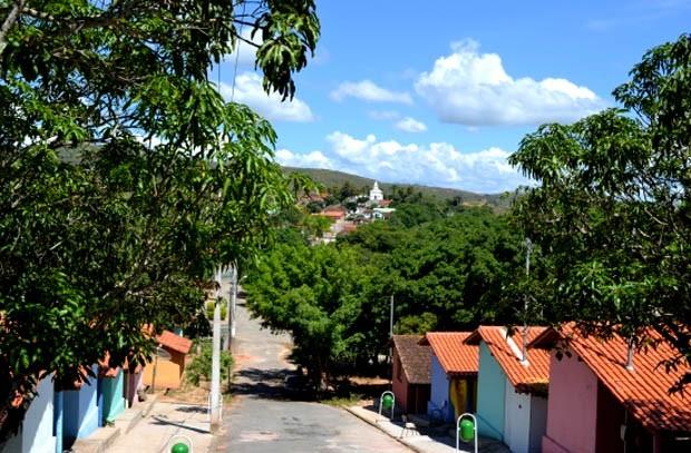 Município mineiro Serra da Saudade (Foto: Divulgação Prefeitura Serra da Saudade)