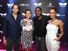 Famosos se encontram em mostra de cinema no Festival do Rio
