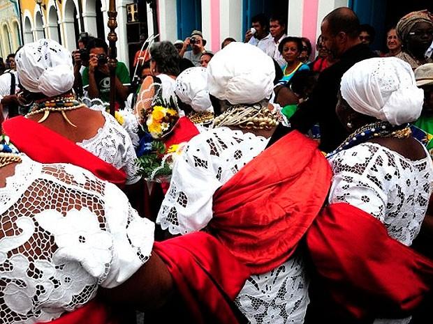Rituais para festa da Boa Morte começam sábado em Cachoeira  (Foto: Divulgação/ Bahiatursa)