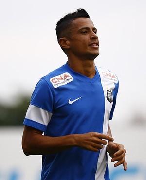 Cícero Santos (Foto: Ricardo Saibun / Divulgação Santos FC)