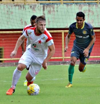 Rio Branco-AC x Galvez, na Arena da Floresta (Foto: Nathacha Albuquerque)