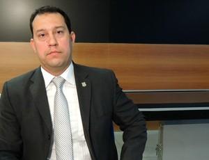 luiz andrey Diretor da Capital e Região Metropolitana da Polícia Civil (Foto: Elton de Castro)