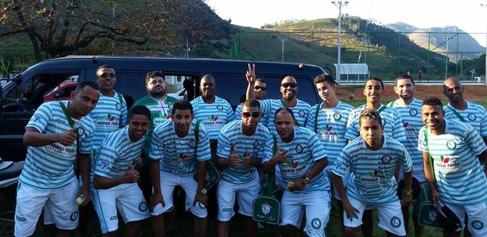 Time do Santo André precisa da vitória contra o Mendes para avançar às semifinais do Capixaba de futebol 7 (Foto: Divulgação/Santo André)