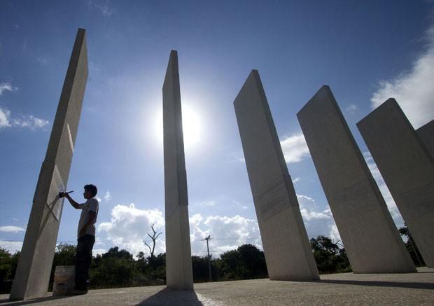 'Santuário da Esperança' foi erguido no sul do México (Foto: AFP)