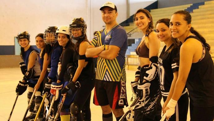 Pebas será representado por time feminino e masculino (Foto: Divulgação/Pebas Hockey)