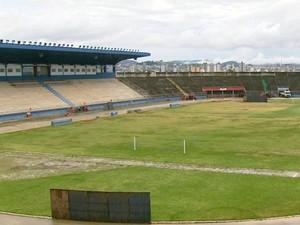 Estádio Manduzão vai passar por novas reformas em Pouso Alegre (Foto: Reprodução EPTV)