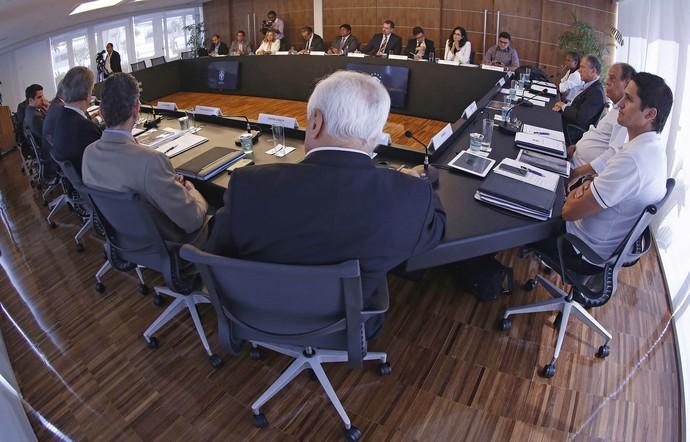 Comitê de Reformas instaurado pela CBF se reúne pela primeira vez na entidade (Foto: Divulgação)